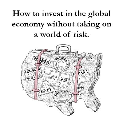 International investing is part of a diversified portfolio. However, there are ways to invest without having to take as much risk. McRae Capital Management can help you diversify while managing risk.