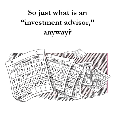 Just what is an investment adviser? There is a distinct difference between an independent investment adviser and a broker. An adviser, like McRae Capital Management, is a fiduciary who always works for our client