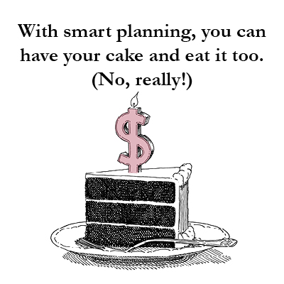 """The greatest risk for individuals and families living on an asset is drawing the principal down too quickly and exhausting it – a euphemism for """"running out of money."""" The only sound way to manage one's nest egg through time is to plan, budget, and be disciplined. McRae Capital Management is here to help you in living off retirement savings."""