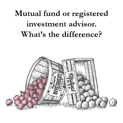 When comparing a Registered Investment Adviser RIA vs Mutual Funds, it